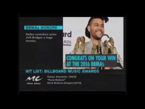 Billboard Awards Live Stream 2016/Music Choice Billboard Awards Hit List