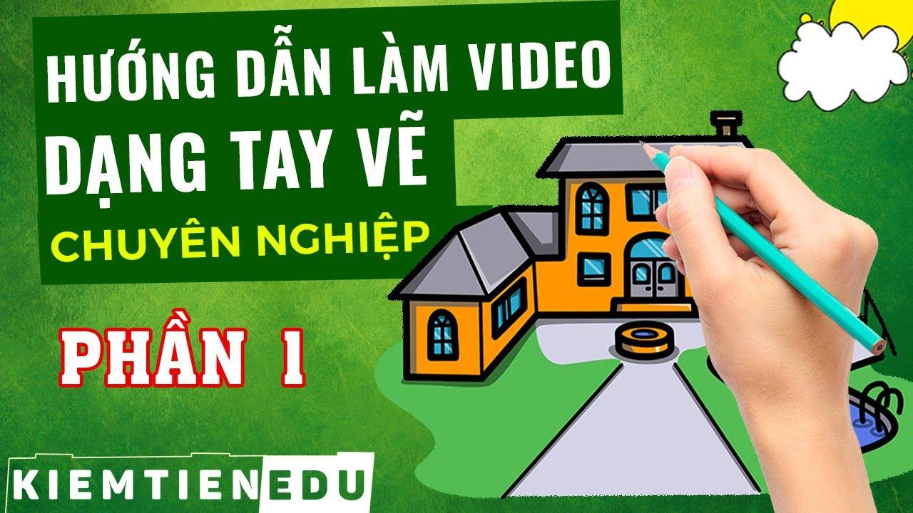 Hướng Dẫn Sử Dụng Phần Mềm Videoscribe ĐẦY ĐỦ nhất (P.1) | Cách làm video animation dạng tay vẽ