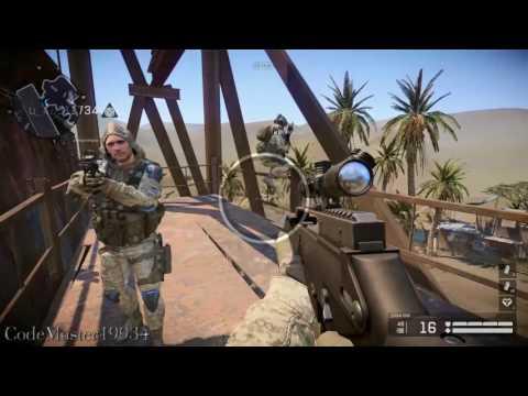 "Warface ""Evil Robot"" Gameplay 2017 PC Multiplayer Online HD 1080P (CodeMaster19934)"