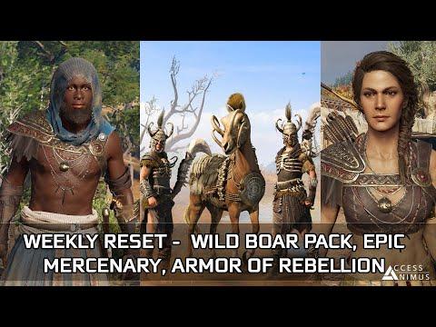 Assassin's Creed Odyssey - February Week 1 Reset – Wild Boar Pack, Armor of Rebellion, Mercenary thumbnail