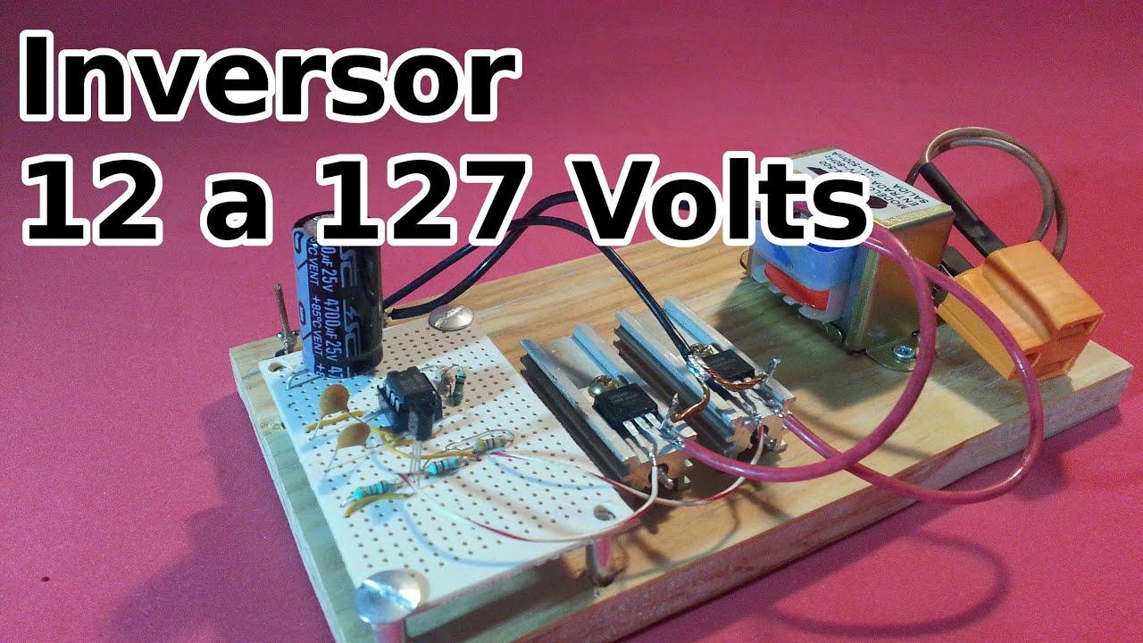 inversor de 12 a 127 volts youtube. Black Bedroom Furniture Sets. Home Design Ideas