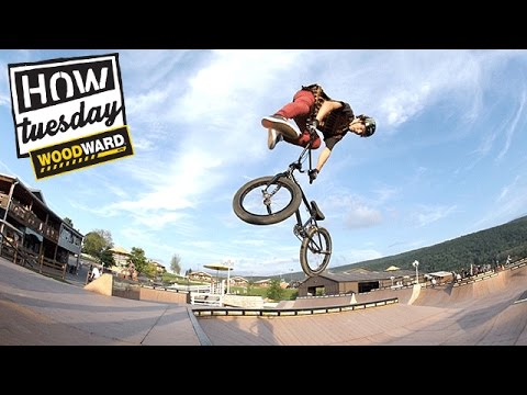 BMX - How Tuesday - 360 Downside Whips with Mike Varga