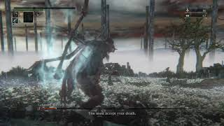 Bloodborne - Gehrman Bossfight - Alternative Ending