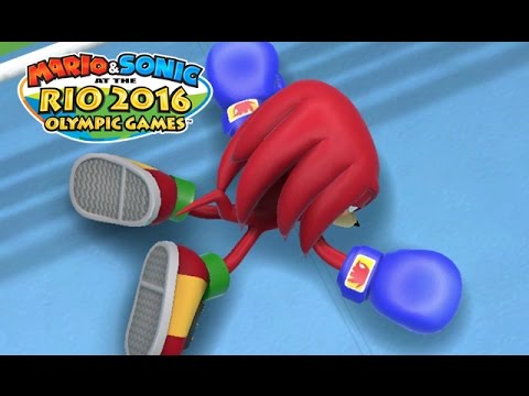 BOXING – Mario and Sonic at the RIO 2016 Olympics [Wii u Gameplay]
