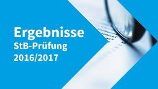 Steuerberaterprüfung 2016/2017 – die Ergebnisse!