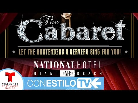 Where to eat i Miami Beach - THE CABARET South Beach at THE NATIONAL HOTEL