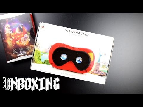 Unboxing ViewMaster VR - Virtual Reality Brille - Nicht nur für Kinder