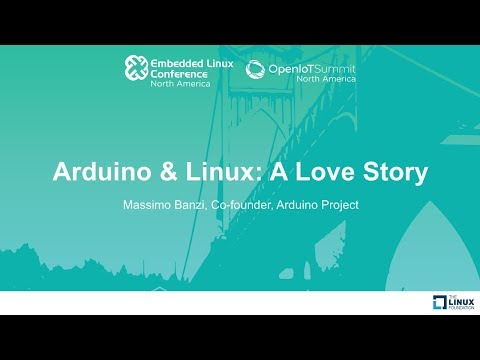 Keynote: Arduino & Linux: A Love Story - Massimo Banzi, Co-founder, Arduino Project