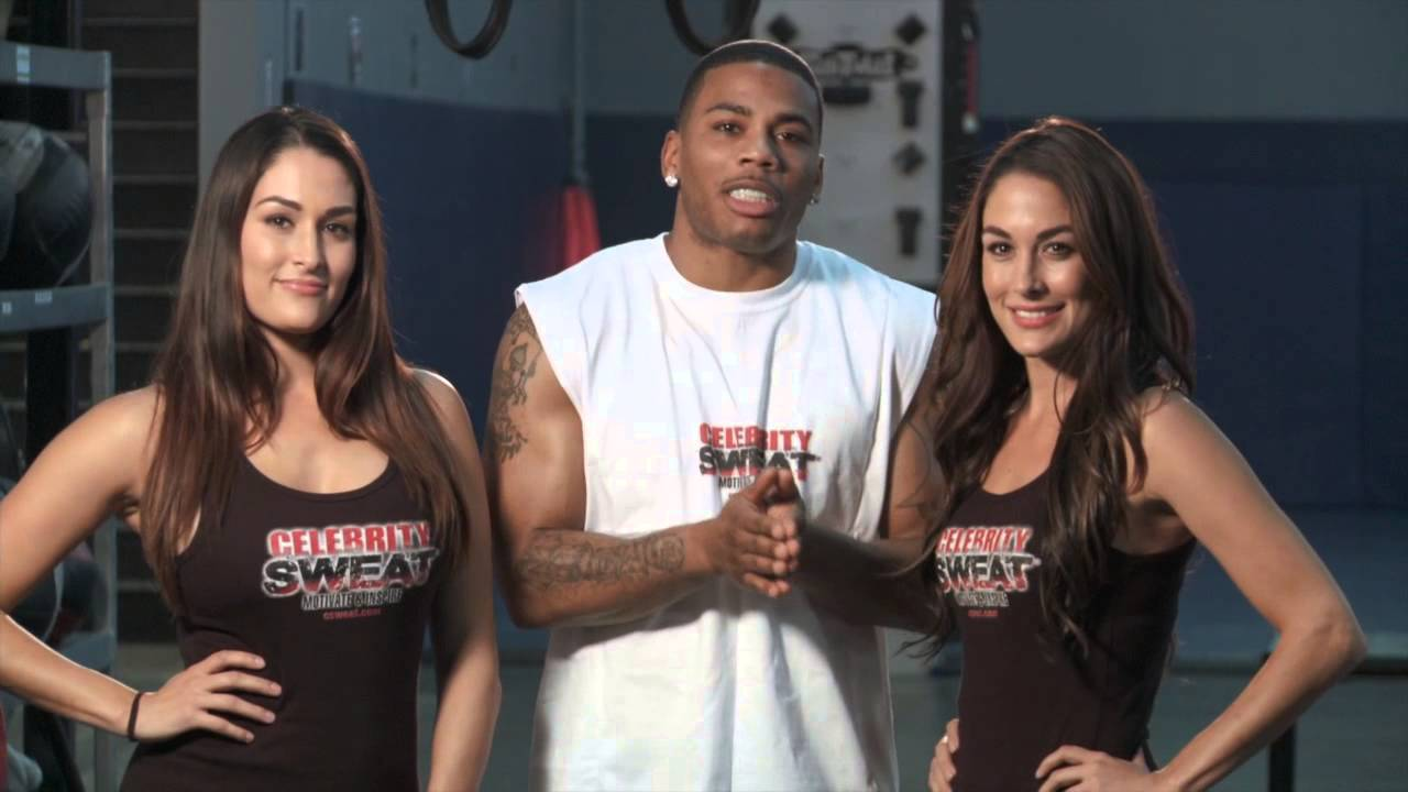 Celebrity Sweat Softball Challenge and Nelly, 2013 - video ...