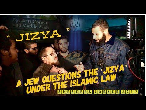 A JEW QUESTIONS THE JIZYA IN ISLAM #BrM-Hijab | SPEAKERS CORNER |