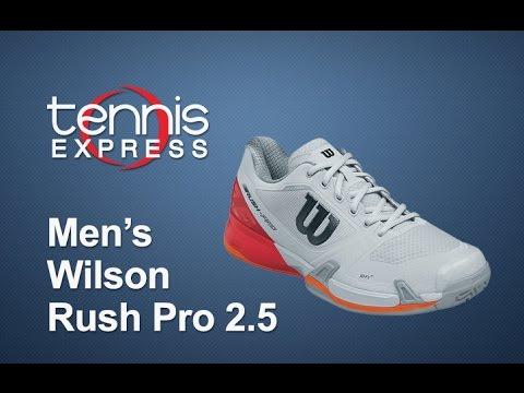 Wilson Men s Rush Pro 2.5 Tennis Shoe Review  59c850f25e9
