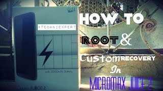 Tutorial - How to root and install custom recovery in Micromax Juice 2 AQ5001