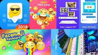 App Review Of Facemoji Emoji Keyboard: Gif Emoji, Keyboard, Theme❤😍❤😍 screenshot 2