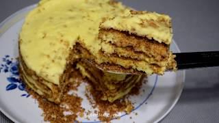 БЕЗ ДУХОВКИ и ПЕЧЕНЬЯ !!! ОБАЛДЕННЫЙ торт ПЛОМБИР. Популярный рецепт!