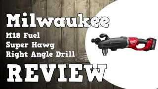 Milwaukee M18 Fuel Super Hawg Review 2709-22 & 2711-22