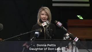 Family of Don Lewis Press Conference about Lawsuit, Reward and Demands for Civility