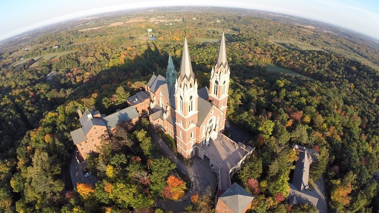 Fall Church Pictures Free Wallpaper Holy Hill Wisconsin Youtube