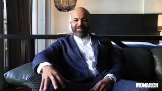 Behind The Scenes Cover Shoot of Jeffrey  Wright: The Art of Excellence