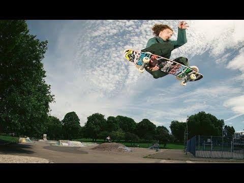 Kris Vile in LA for Almost Skateboards
