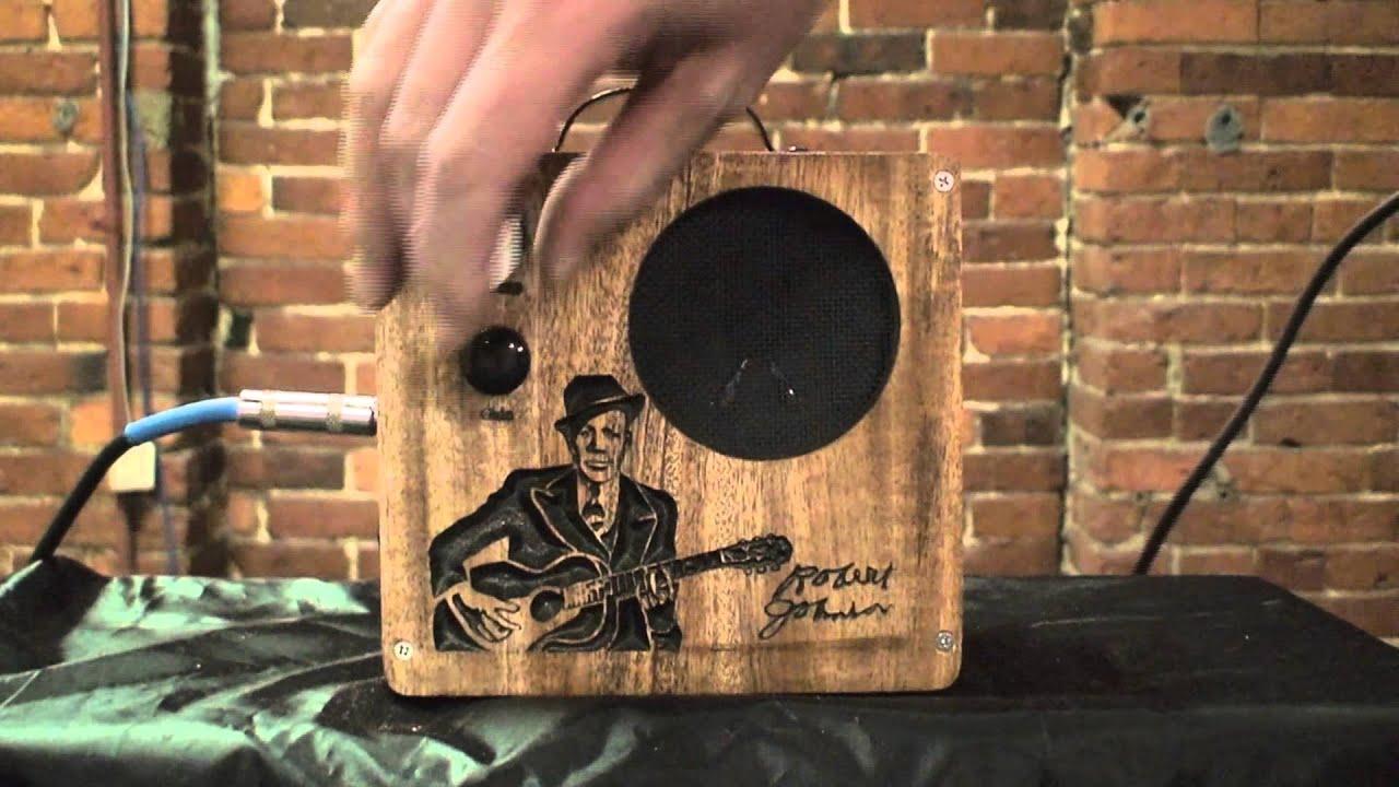 C B Gitty Custom Carved Robert Johnson Cigar Box Amplifier Youtube Circuit Board On Vintage