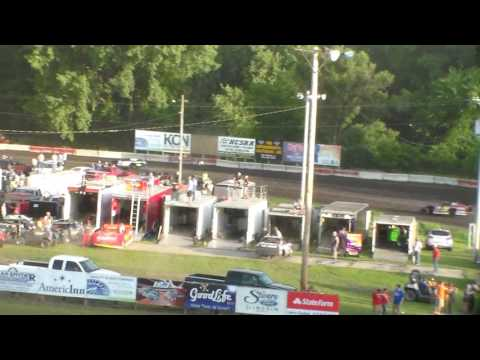 Modified Heat 2 @ Hamilton County Speedway 07/08/17