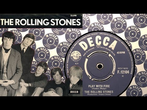The Rolling Stones - Play With Fire [Nanker, Phelge]  [UK Decca F.12104] 1965 HQ