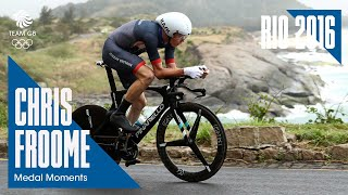 Rio Medal Moments: Chris Froome Time Trial - Bronze | Cycling