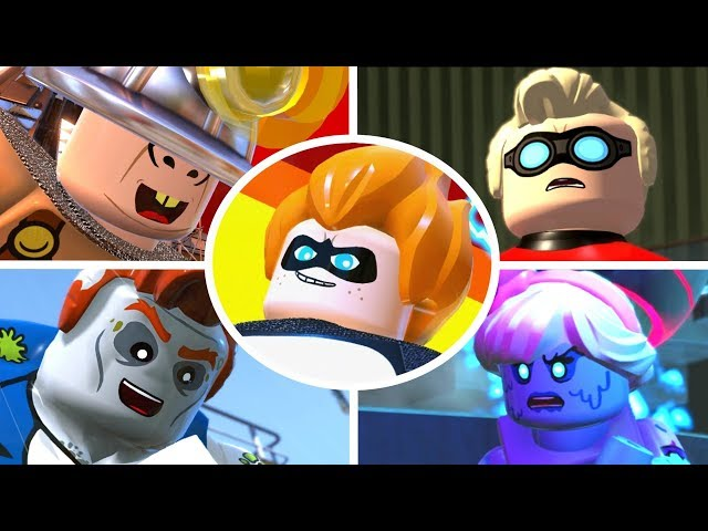 LEGO The Incredibles - All Bosses & Ending