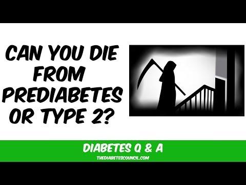 Will Prediabetes Or Type 2 Kill Me?