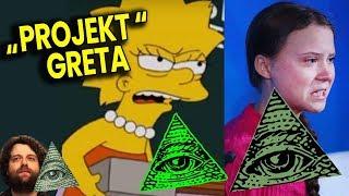 Greta Thunberg to Wychowanka Illuminati Przepowiedziana przez The Simpsons? Plociuch Spiskowe Teorie