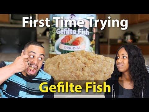 First TIme Trying: Gefilte Fish