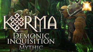Karma vs. Mythic Demonic Inquisition [Holy Paladin PoV]
