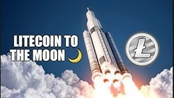 LITECOIN GOES PARABOLIC!! WILL IT HOLD?! MY PLANS FOR THIS MASSIVE MOVE!