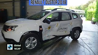 2018 Renault Duster - Crash test (2 Airbags)