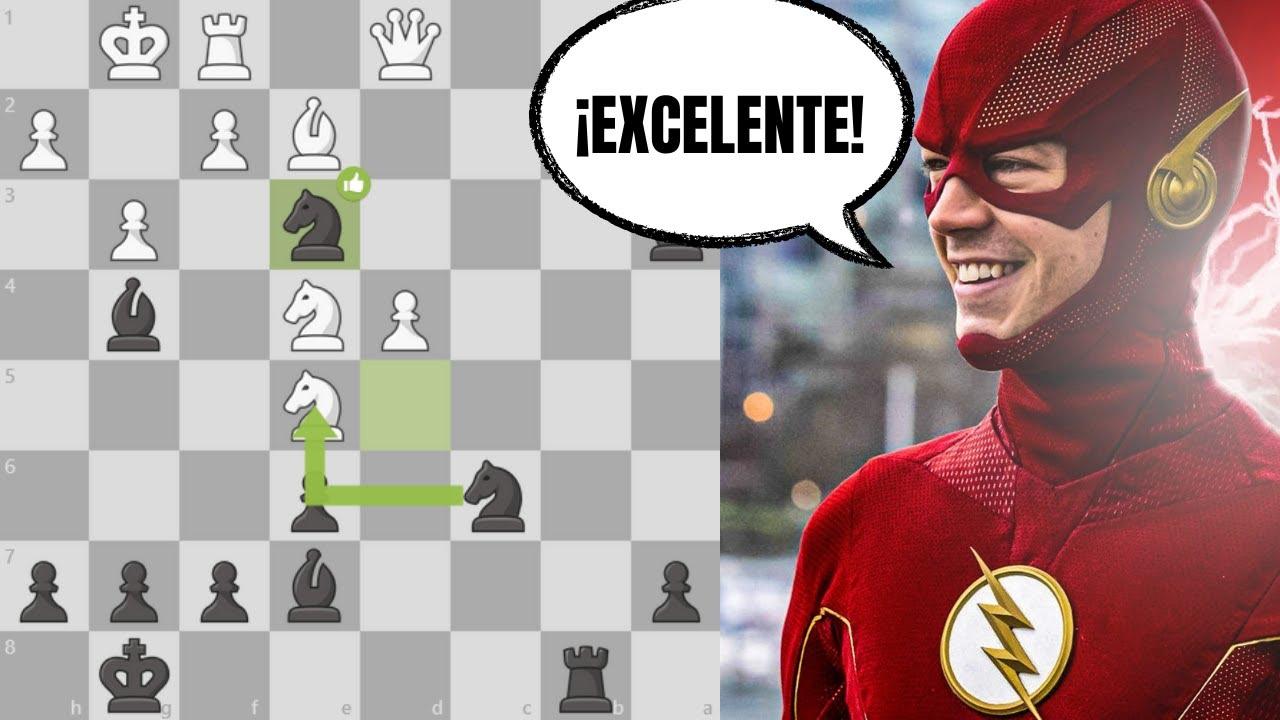 ⚡️ RÁPIDA y CLARA VICTORIA en ajedrez | Defensa Siciliana, Variante Alapín