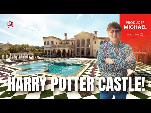INSIDE AN INCREDIBLE HARRY POTTER CASTLE IN LOS ANGELES!