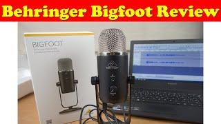 Behringer Bigfoot (Unboxing y review)