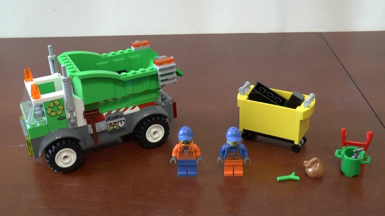 Lego Juniors 10680 śmieciarka Część 2 Youtube