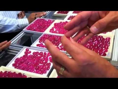 Glass Filled, Heat Treated Rubies At The Bangkok Gem Show