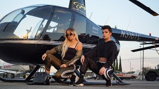 GET READY WITH US IN OUR HELICOPTER (ft. Tana Mongeau) thumbnail