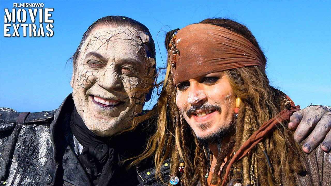 go behind the scenes of pirates of the caribbean dead men tell no