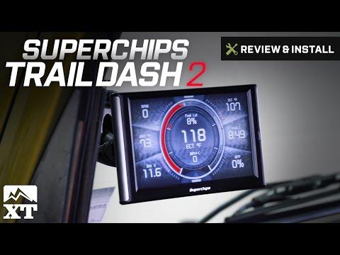 Jeep Wrangler Superchips TrailDash2 (2003-2006 TJ) Review & Install