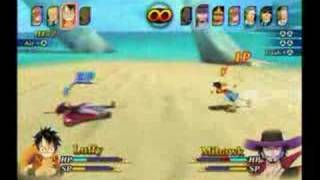 One Piece Unlimited Adventure - 2 Player VS.