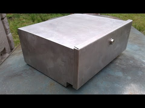 Making an aluminum storage box for my VW Bus - Short Version
