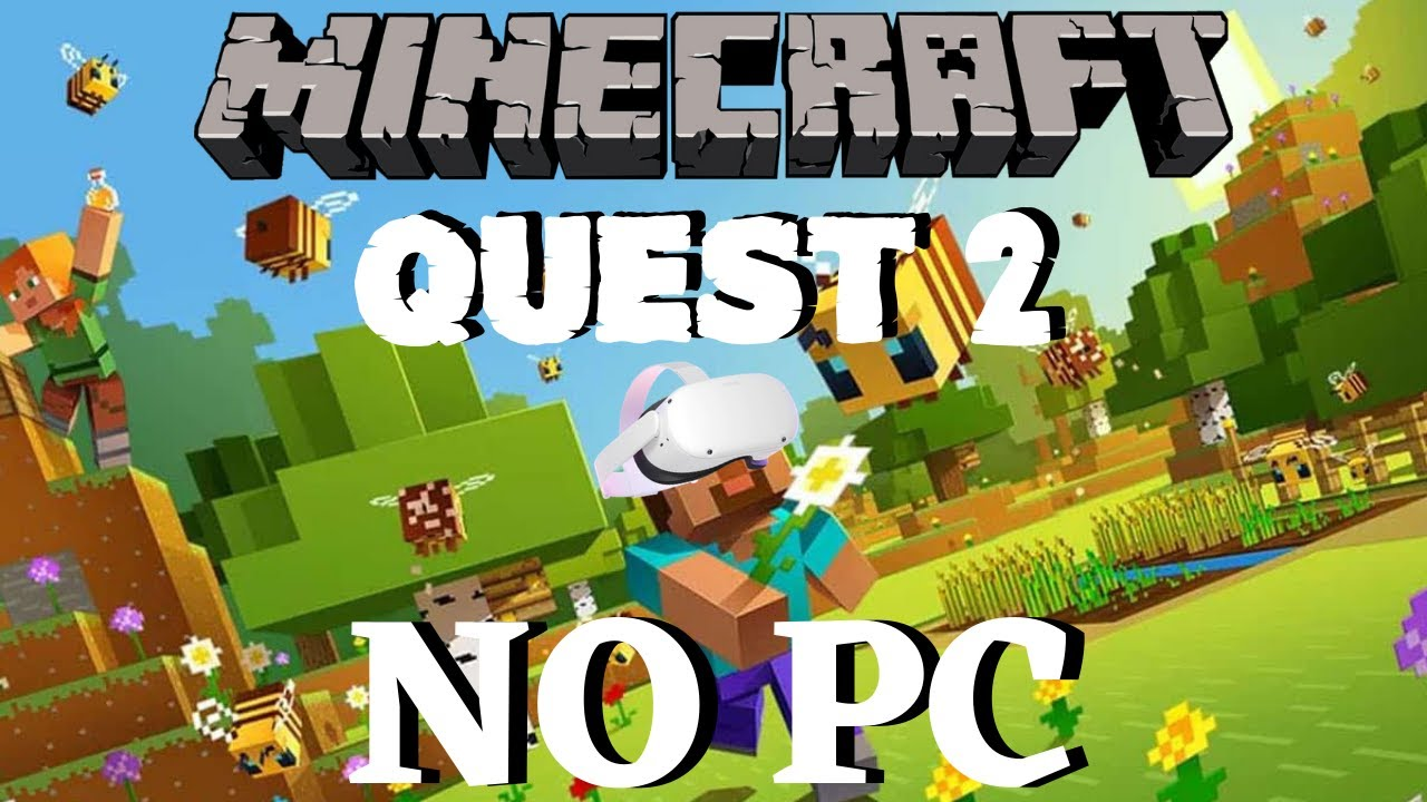 Minecraft VR on Oculus Quest 11 NO PC Needed to Play!