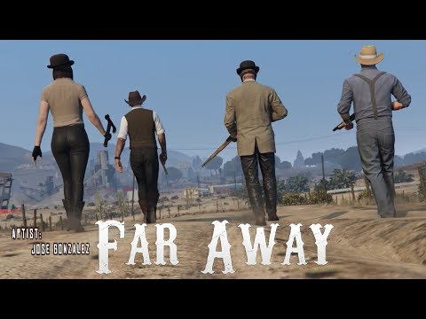 Jose Gonzalez - Far Away (GTA cinematic music video)