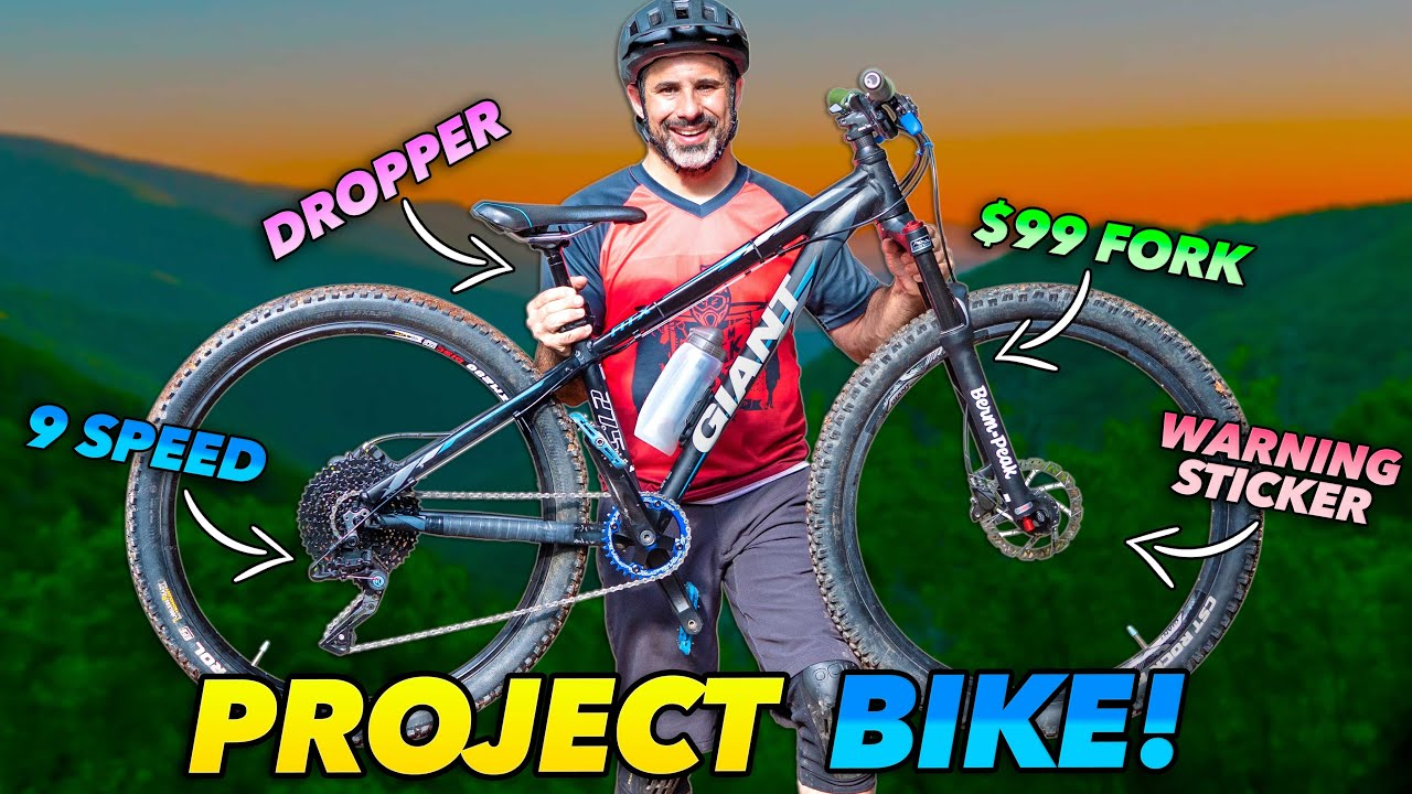 Download Old Budget Hardtail Gets Fixed Up and Sent Hard!