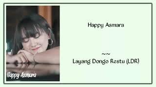 Happy Asmara - Layang Dungo Restu   LDR (Lirik)