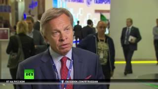 Алексей Пушков осудил решение IAAF по российским атлетам