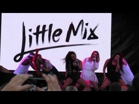 Little Mix - Thorpe Park Complete Performance Live - at Island Beats, Thorpe Park on 17/07/2015